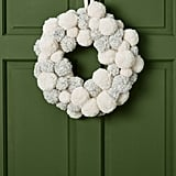 Blizzard Pom-Pom Wreath