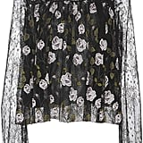 Giambattista Valli Sheer Lace Blouse