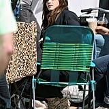 Emma Watson relaxed on the set of The Bling Ring in Venice.