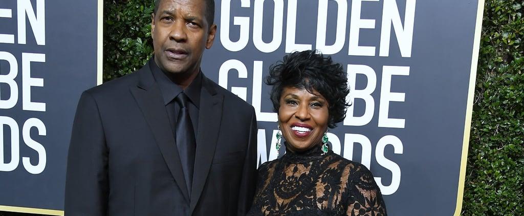 Denzel Washington at the 2018 Golden Globes