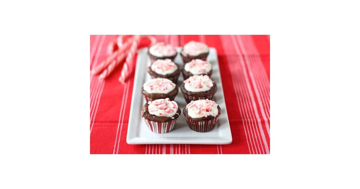 Peppermint Crunch Brownie Bites | Candy Cane Recipes ...