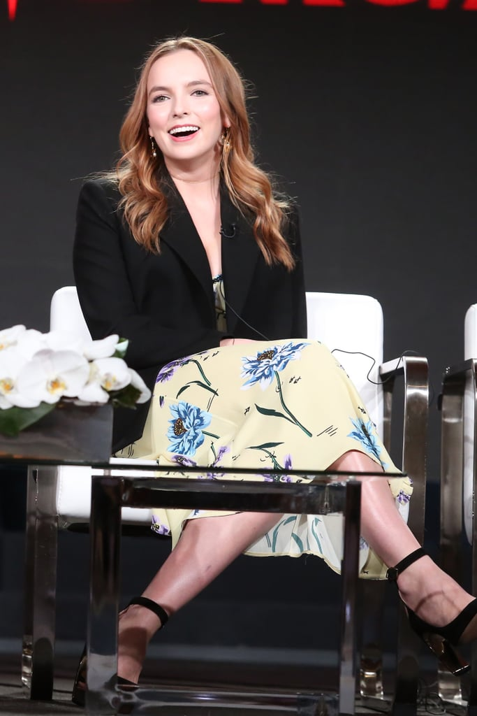 Jodie Comer at the 2018 Winter TCA Tour