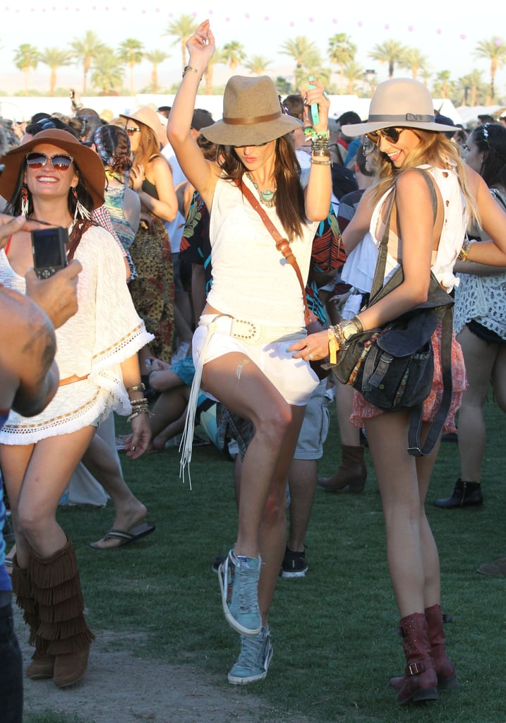 Alessandra Ambrosio got her dance on.
