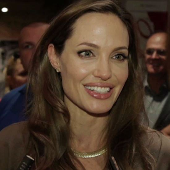 Angelina Jolie at Sarajevo Film Festival (Video)