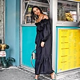 Or Go For an Off-the-Shoulder Maxi