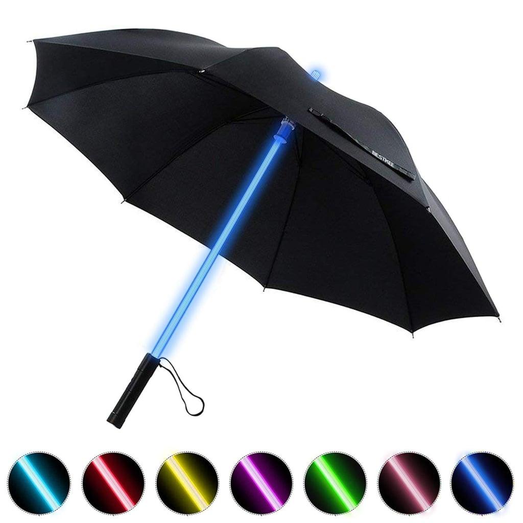 Led Umbrella Lightsaber Laser Sword Light Up Umbrella