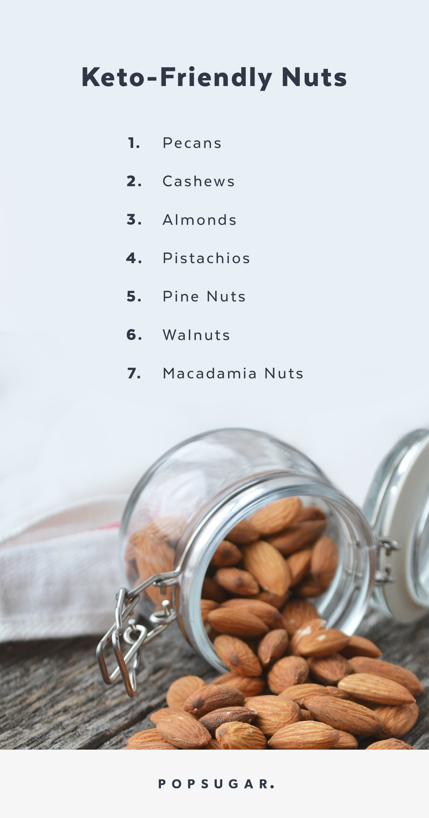 almonds on ketogenic diet