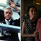 Wallis Simpson and Edward VIII, and Geraldine Chaplin and Derek Jacobi