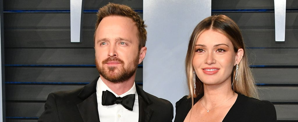 Aaron Paul and Lauren Parsekian After Welcoming First Child