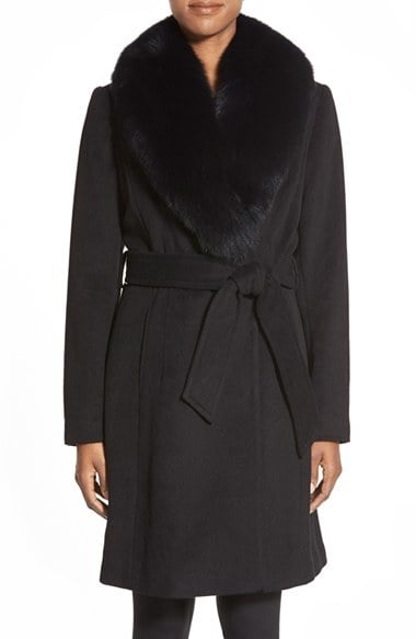 1 Madison Wool Blend Wrap Coat ($540, originally $898)