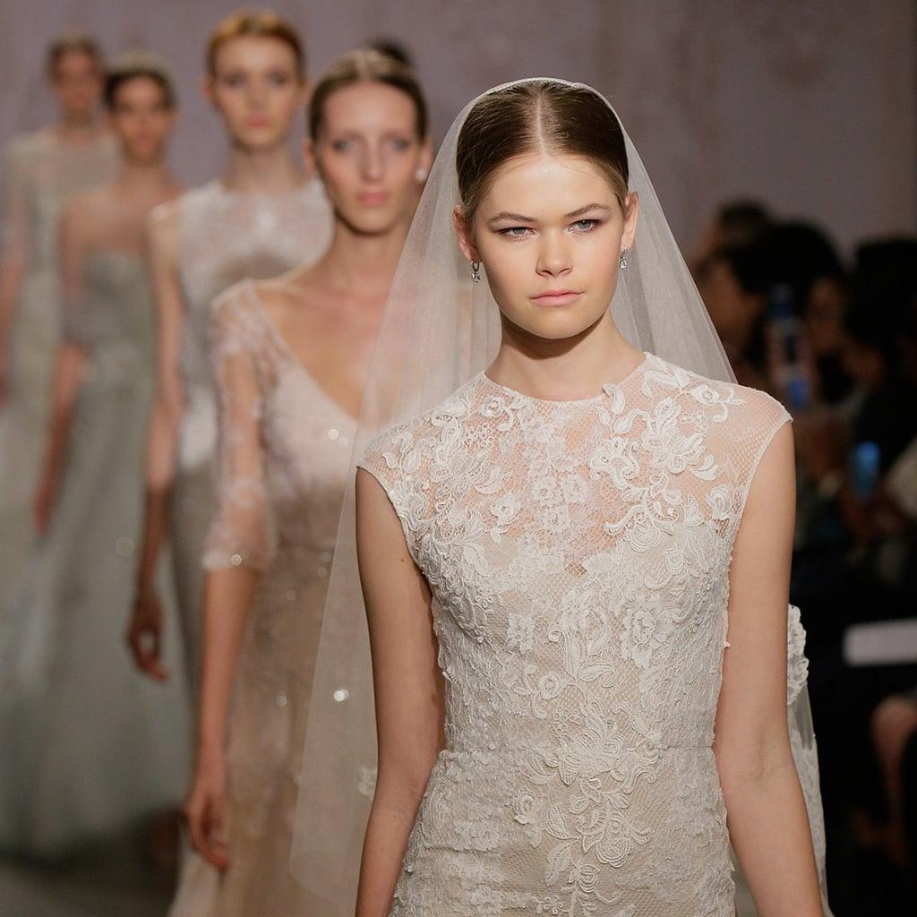Bridal Fashion Week Wedding Dress Trends Fall 2015 | POPSUGAR Fashion