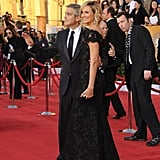 Stacy Keibler Returns to George Clooney's Side For the SAG Awards
