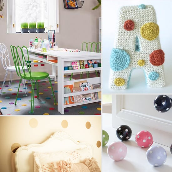 Spotted! Fun Polka-Dot Finds For Your Tot's Room