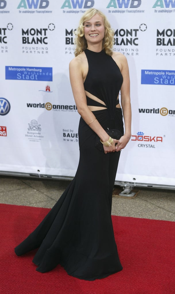 Diane Kruger at the 2004 Women's World Awards in Germany