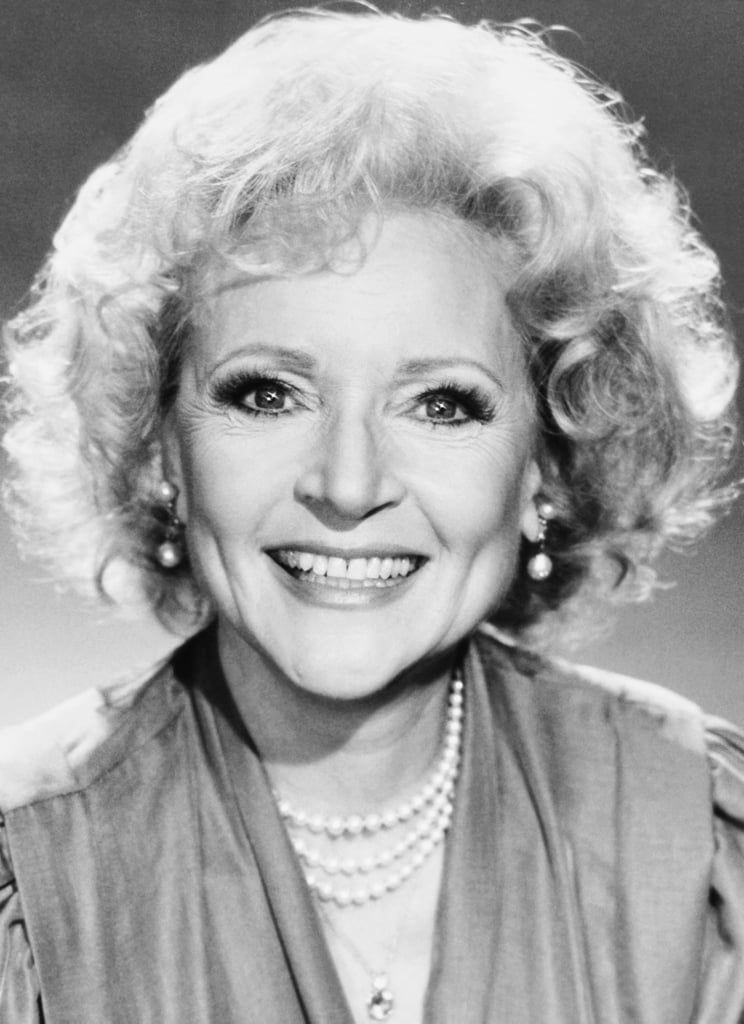In 1989, Betty White Let Her Hair Down