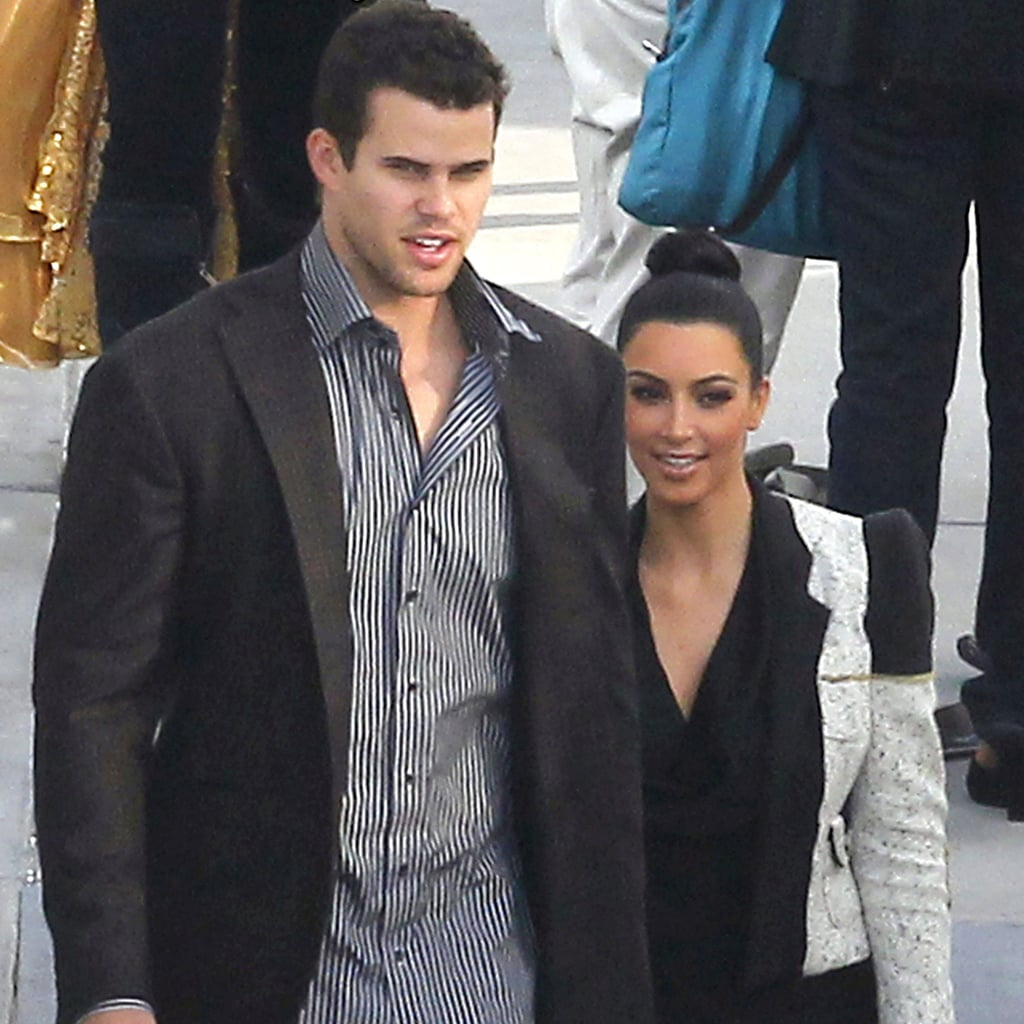 Kim Kardashian Visits Rob on Dancing With the Stars Pictures