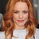 Rachel McAdams recently made the leap from dark red to this brighter strawberry shade. It's a throwback to her The Notebook days.