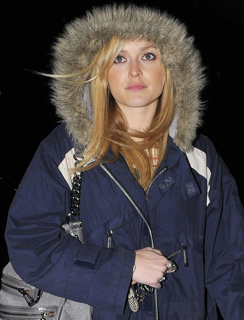 02/02/09 Fearne Cotton in snow