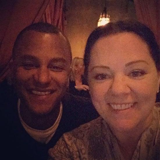 Melissa McCarthy and Yanic Truesdale Instagram