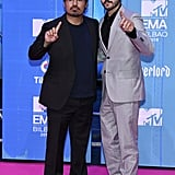 Michael Peña and Diego Luna
