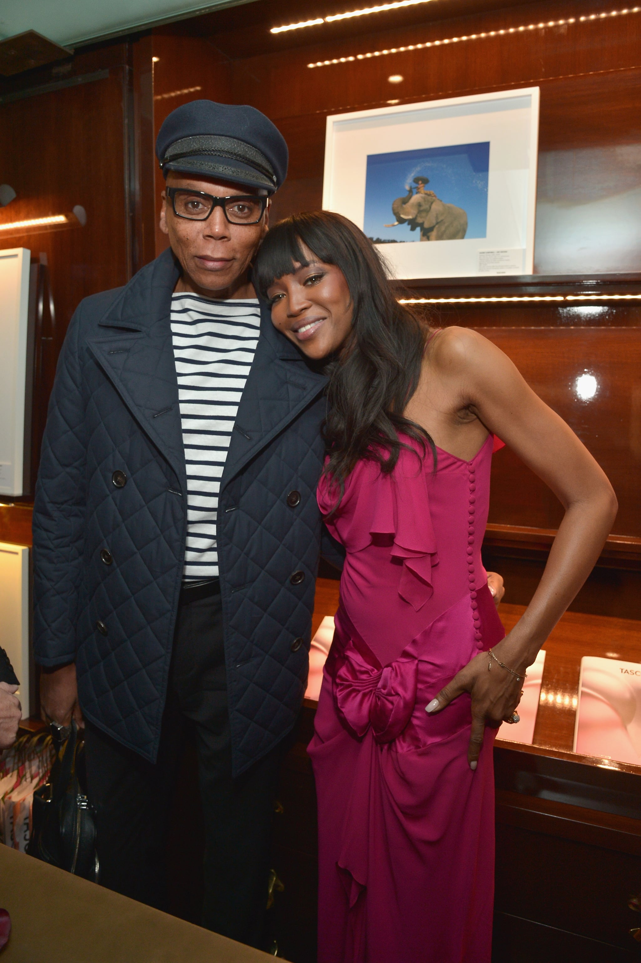 naomi campbell talks about rupaul time popsugar share this link