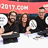 Josh Groban, Marcia Gay Harden, and Jeremy Renner