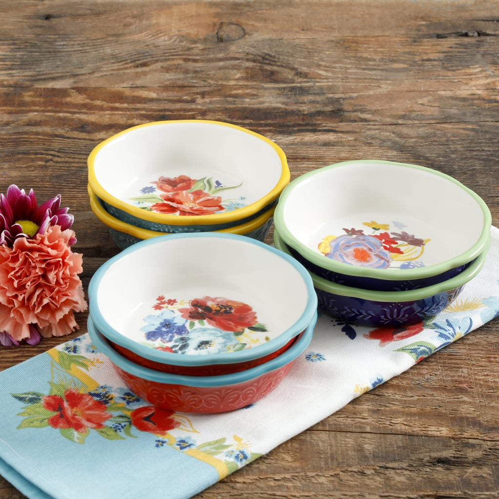 The Pioneer Woman Spring 5-Inch Mini Pie Plates, Set of Six