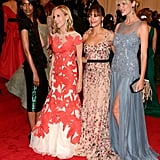 Liya Kebede, Tory Burch, Rashida Jones, and Brooklyn Decker
