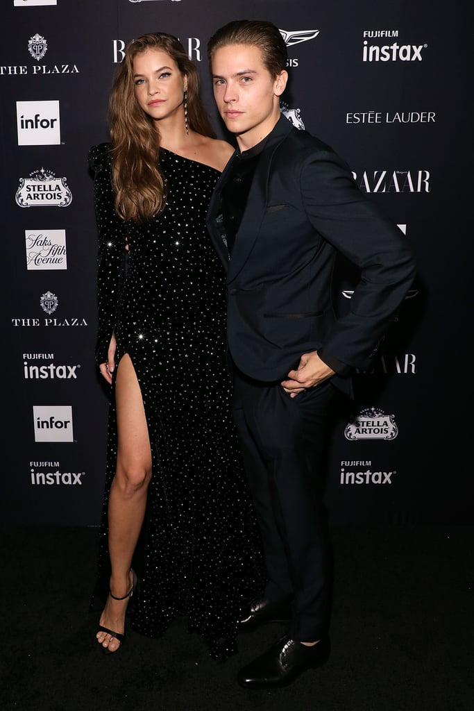 Barbara and Dylan at the Harper's Bazaar Icons Party in September 2018