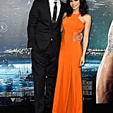 Channing Tatum and Jenna Dewan made for a gorgeous pair at the LA premiere of Jupiter Ascending on Monday.