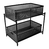 Sorbus Two Tier Organiser Baskets With Mesh Sliding Drawers