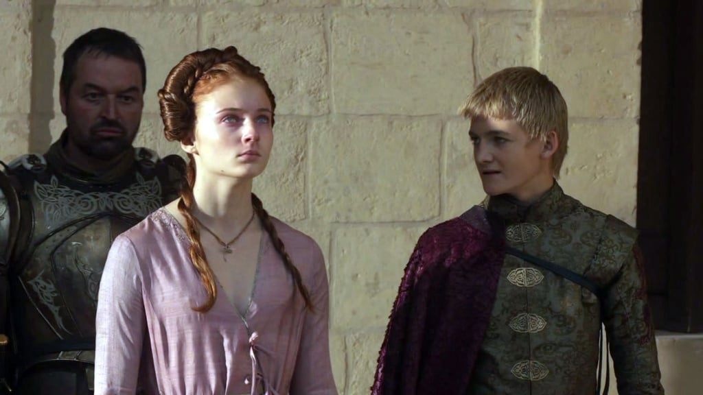 first shes engaged to joffrey sansa starks