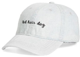 BP Women s Bad Hair Day Baseball Cap Blue  3b7d530b8a0