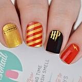 Harry Potter-Themed Nail Polish Wraps