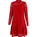 Closet Lace Long Sleeve Dress (£75)