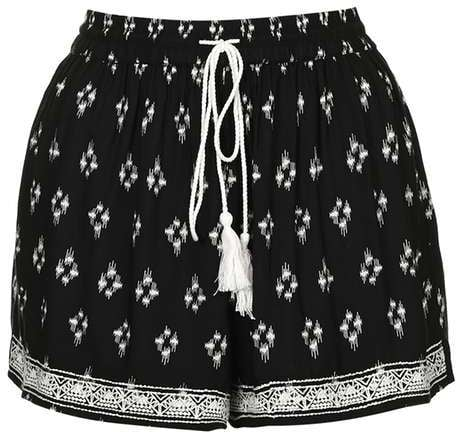 Band of Gypsies print shorts ($60)