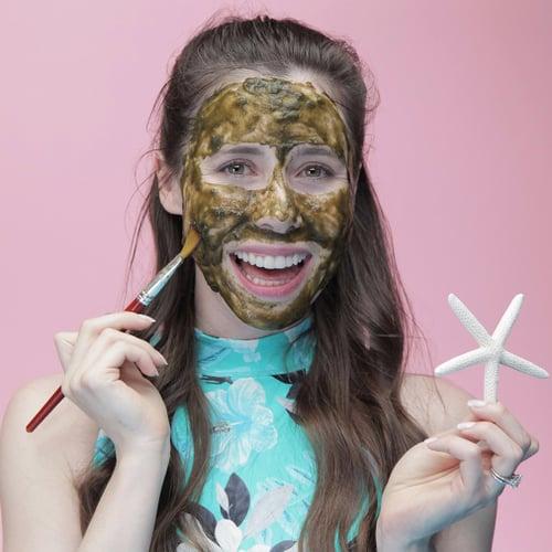 Detoxifying Mermaid Face Mask