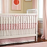 A new addition to Serena & Lily's extensive line of nursery bedding, the Starburst Collection ($36-$115) is bright, feminine, and fun.
