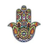 Hamsa Sticker Colorful Hand Decal