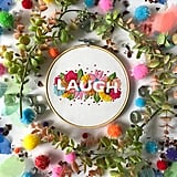 Laugh Embroidery Kit