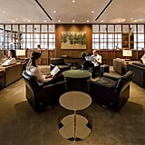 Cathay Pacific Hong Kong Lounge