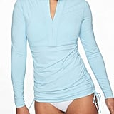 Athleta Ruched Rashguard