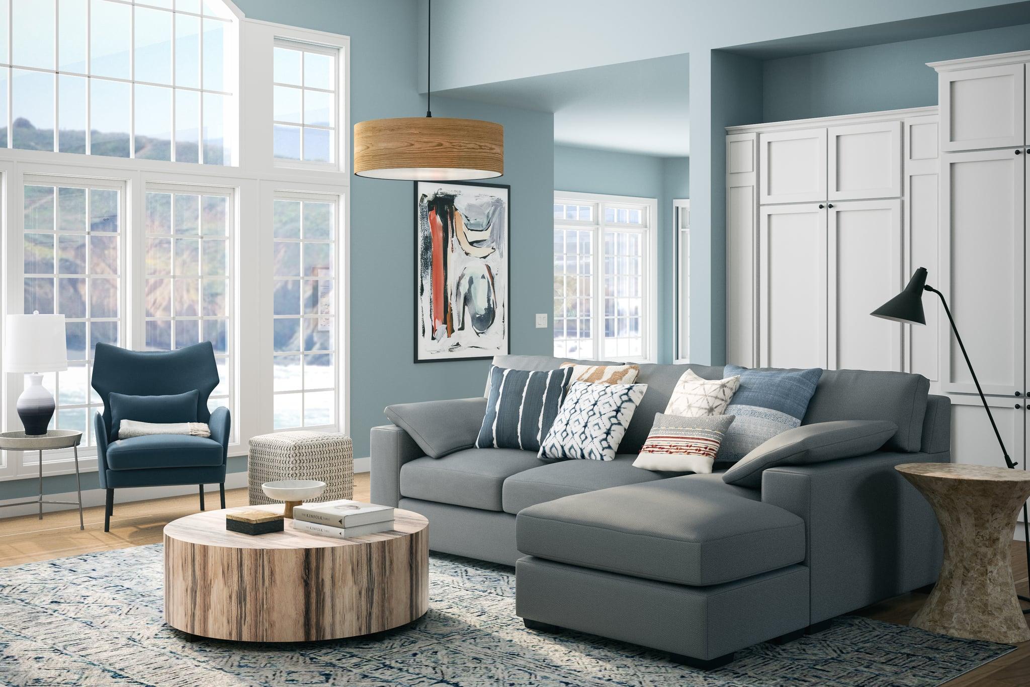 Celeste Inspired Living Room