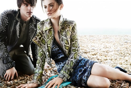 Tali Lennox and Tara Ferry for Burberry Prorsum Spring 2011