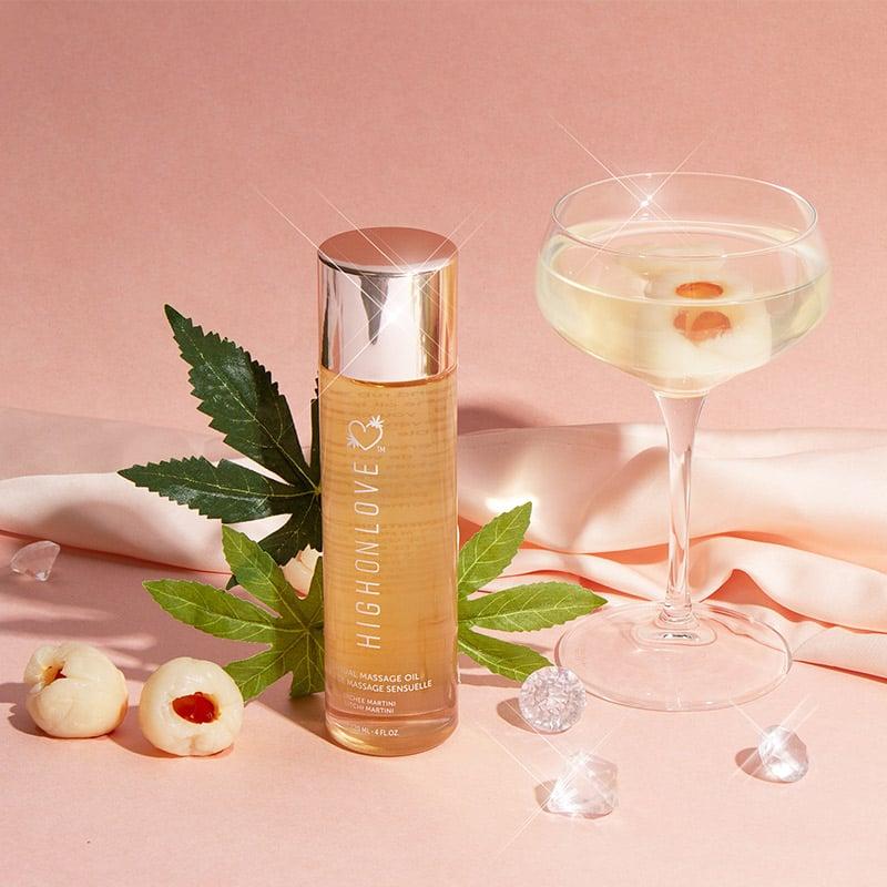 HighOnLove Sensual Massage Oil