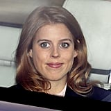 Princess Beatrice arrived at Buckingham Palace.