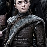 What color eyes does Arya have on Game of Thrones?