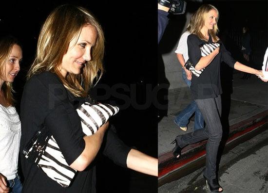 Cameron Diaz Leaving Villa Nightclub in LA
