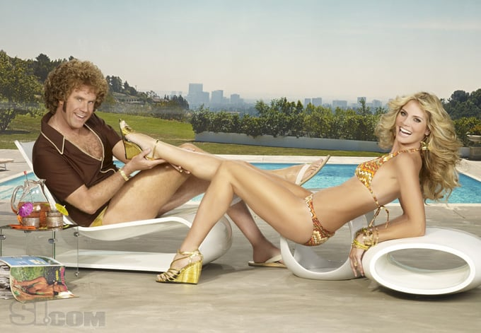 Who's Hotter: Will Ferrell or Heidi Klum?