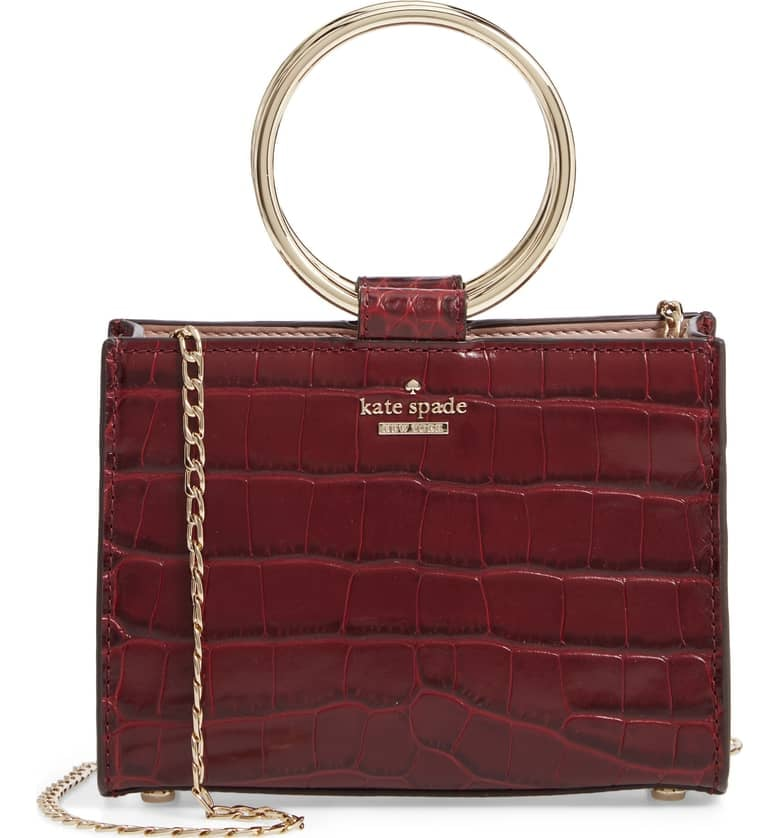Kate Spade New York Mini Luxe Sam Leather Satchel